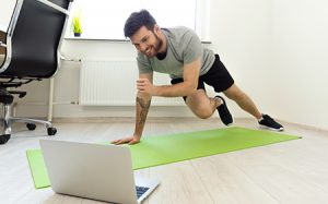 Fitness at the home office